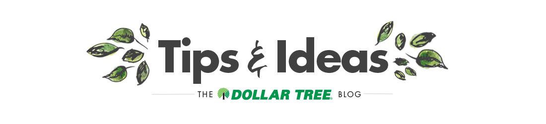 Tips & Ideas, The Official Dollar Tree Blog