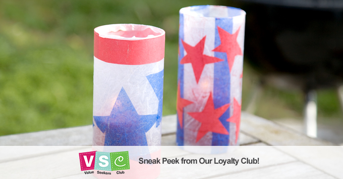 Patriotic Summer Luminaries