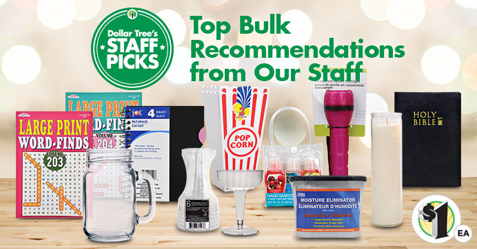 Top Ten Bulk Recommendations from Our Staff