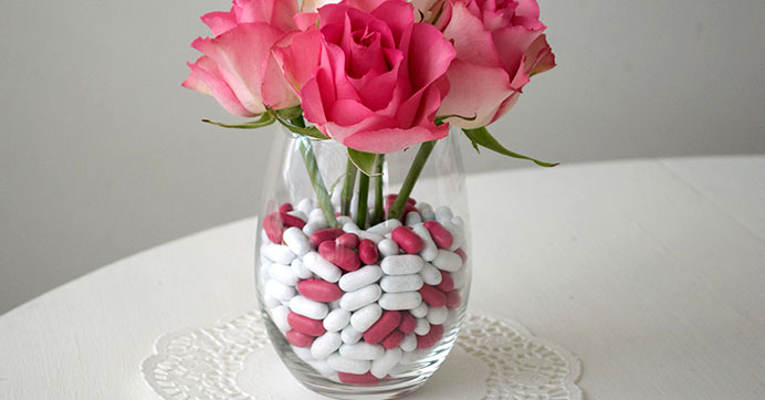 Youll Love These Valentines Day Faux Floral Arrangements The