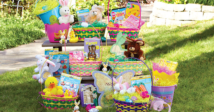 How to build an epic easter basket on a budget the dollar tree blog build an epic easter basket on a budget negle