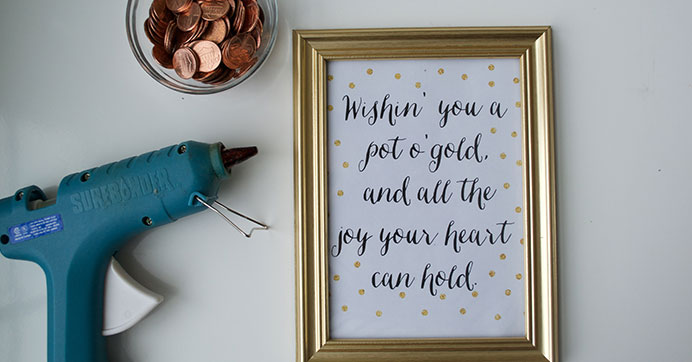 Penny Embellished Photo Frame