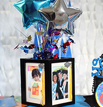Grad Frame Centerpieces for Your Grad's Party