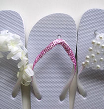 Dress Up Dollar Tree Flip-Flops