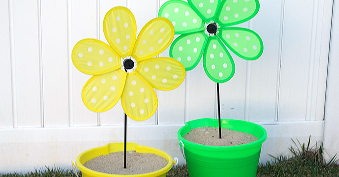 Pinwheel Party Decorations for Summer
