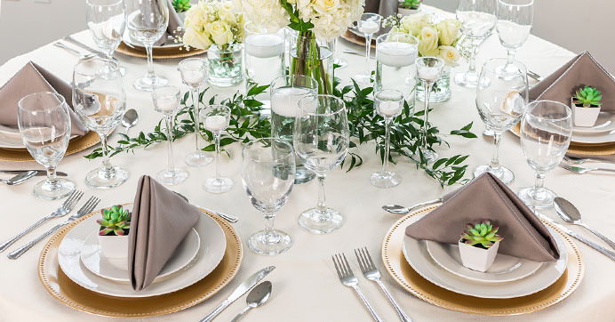 DIY Dollar Tree Wedding Reception Tablescape