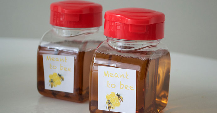 Honey Jar Wedding Favor Idea