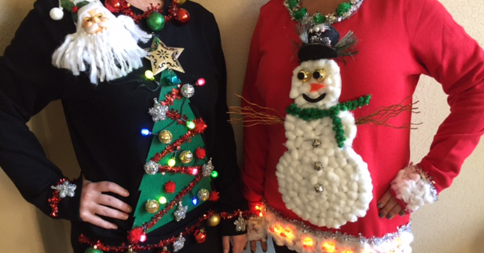 It's Ugly Christmas Sweater Time: 3 Tree-Mendously Tacky