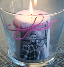 Picture Perfect Pillar Candles