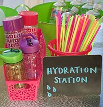 Hydration Station for Summer