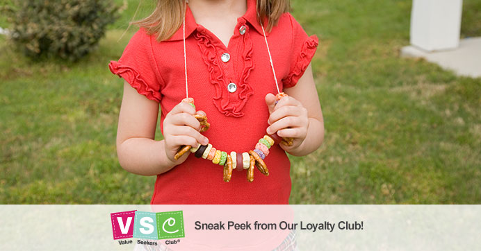 Snack Necklaces for Kids