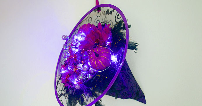Witch Hat Wreath