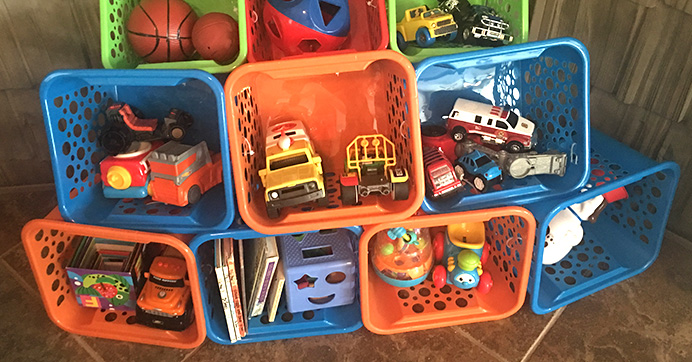 Toy Storage Hack