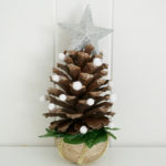 DIY Pinecone Trees