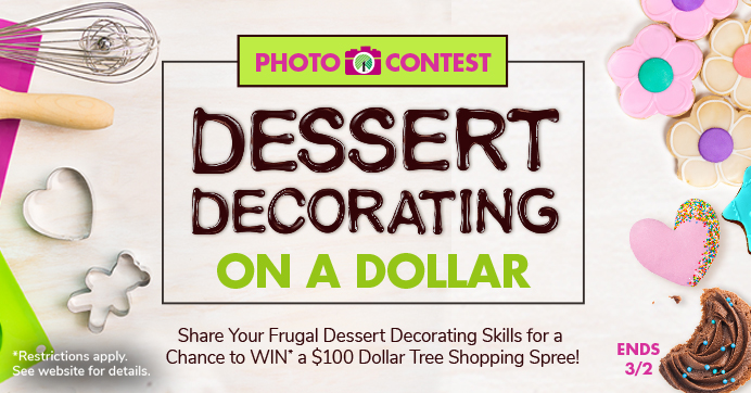 Dessert Decorating Photo Contest