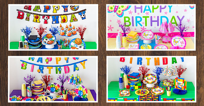 The Party Starts Here Check Out These Birthday Themes