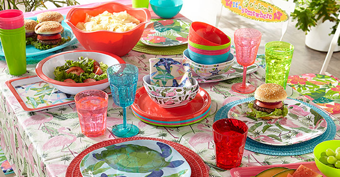 New Summer Melamine Dinnerware