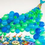 Mermaid Tail Balloon Arch