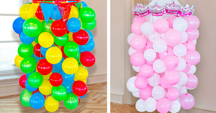 DIY Balloon Chandeliers