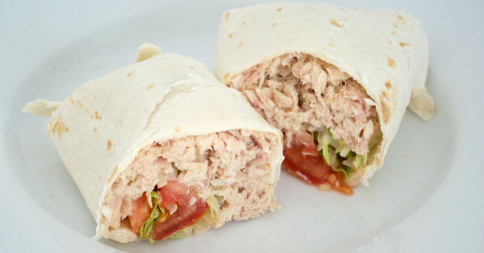 Easy Tuna Wraps