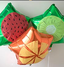 Fruit Slice Helium Balloons