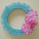 DIY Straw Wreath