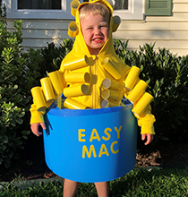 Easy Mac Halloween Costume
