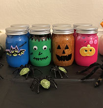 Halloween Slime Party Favor