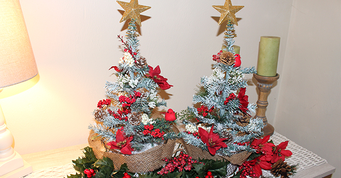 Tabletop Tree Decor