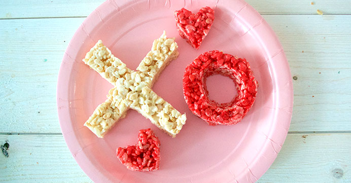 XOXO Crispy Treats