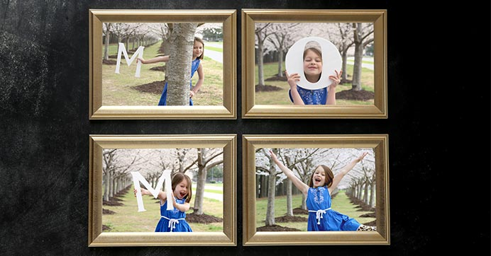DIY Mom Picture Frame
